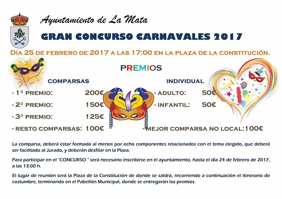 Concurso Carnavales La Mata 2017